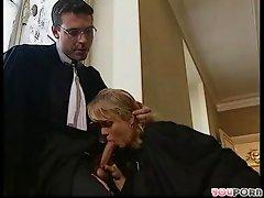 German judges fuck between hearings