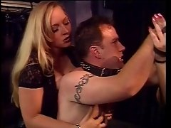 Two shemales make their man behave