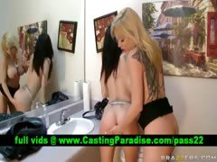 Angie Melissa horny lesbians licking and fingering