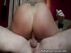 Nasty blonde slut goes crazy