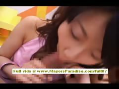 Yuki Aito amateur teen asian does blowjob