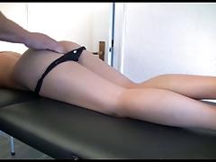 nice german bitch fucked after massage