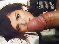 BIGflip's Selena Gomez Cum Facial