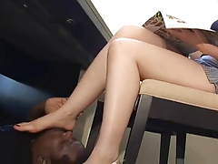 Brunette Lady & Her Feet Slaves, p. 7