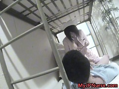 Hot Japanese nurse is up for some hot