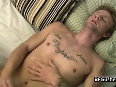 Jordan fucking his asshole with vibrator
