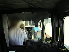 Taxi driver fucks ex girlfriend anally