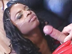 Massive Hanging Boobs Interracial Anal