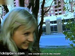 Awesome blonde is picked up from street part3