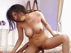 Vibrator stimulates pussy