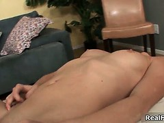 Raven brunette girls with firm natural part6