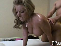Orall-service stimulation with wild fucking session
