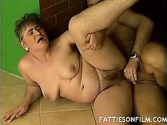 Horny BBW Pussy Pounding