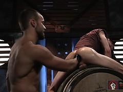 Novak Loosens Rogue's Hot Hole To Shove His Fist Deep Inside