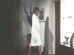 Gloria Guida first seen nude on the shower, showing her