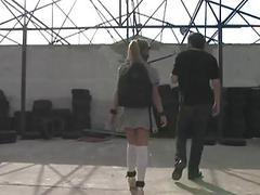Hot girl manhandled and ass
