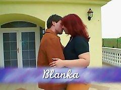 Mature BBW -Blanka get fucking on the sofa