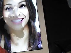 Zoe Saldana cumtribute - november 2013