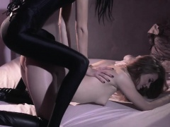 Super enchanting strapon dildo erotic movie
