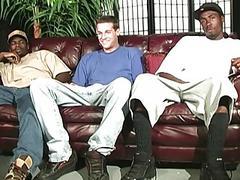 Big cocked blacks assfucking a white dude