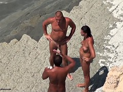 nude beach sharing wife