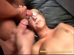 crazy german groupsex party
