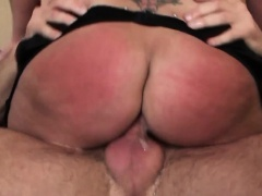 Deepthroating sub slut sprayed cuminmouth
