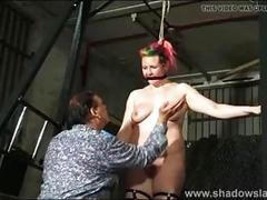 Redhead slut in training to be a perfect slave BDSM