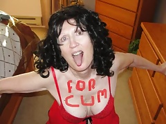 cumslut whore sue palmer sucking cock