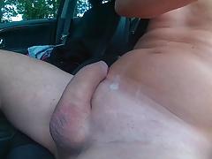 quick wank in my car