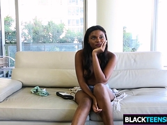 Stacked Black Teen Mya Leah Gets Slammed