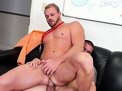 Boots gay porn male told him about his overly bossly boss.