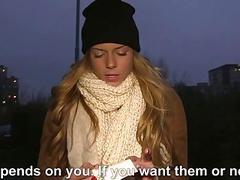 Czech babe Chrissy Fox fucked for money