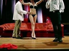 Lusty milf Eva Karera jizzed on big tits