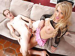 TS prostitute Aubrey Kate