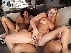 Eva Angelina and friend in hardcore threesome