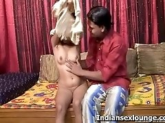Naked Indian girl with legs spread