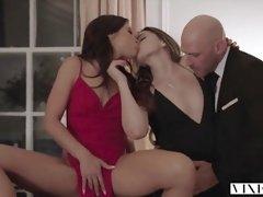VIXEN Tori Dark-Hued And Adriana Chechik In The GREATEST Threesom