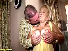 horny 89 years old hairy bush grandma gets extreme rough and deep fucked in her old cunt