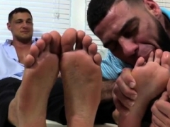 Hunk men loving gay sex Ricky Worships Johnny & Joey's