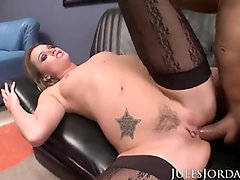 Jules Jordan - Tori Dark-Hued gets her Donk Destroyed