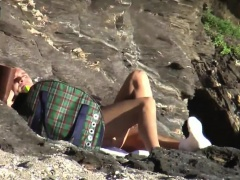Inventive Blonde Girl Public Flashing Outdoor