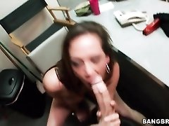 Tory Lane hard doggystyle sex over a desk