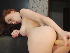 Bubble Ginger Ass Getting Pound