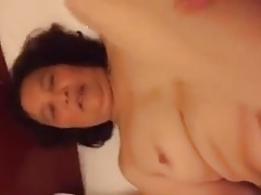 Cumming into a Chinese Granny