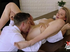 Big tits cowgirl reverse cowgirl with facial