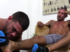 Hot guys feet free gay Johnny Hazzard Stomps Ricky Larkin