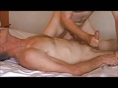 Gay two older men video