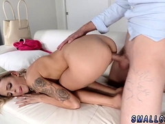 Girl touching first time Tiniest In The Agency