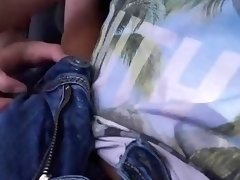 Slutty teen Felicia Kiss sex in the car